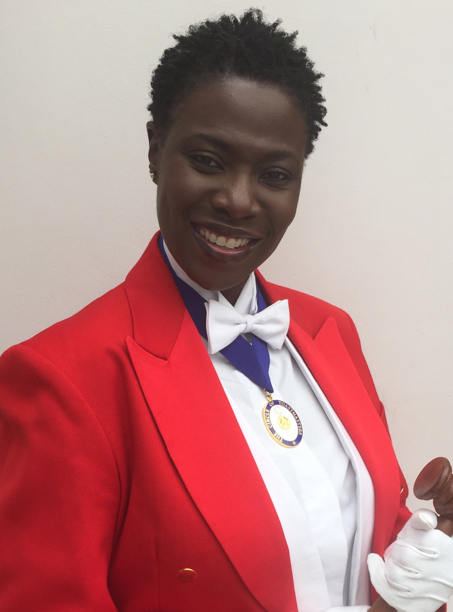 Red coat toastmaster in London